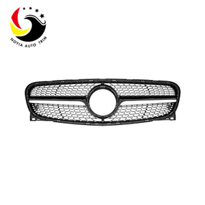 Benz GLA Class X156 13-15 Diamonds Black Front Grille