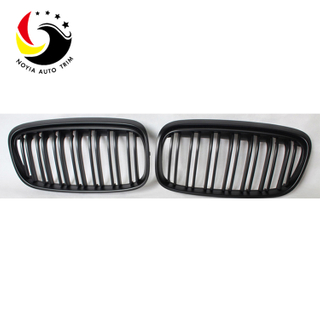 Bmw 2 Series F45/F46 14-IN 2-Slat Matte Black Front Grille
