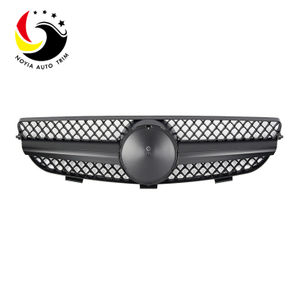 Benz CLK Class W209 AMG Style 03-08 Matte Black 1-Fin Front Grille
