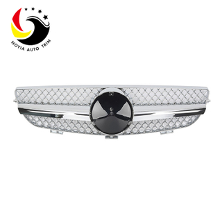 Benz CLK Class W209 AMG Style 03-08 Chrome 1-Fin Front Grille