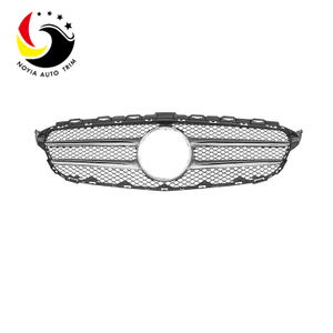 Benz C Class W205 15-IN Original Style Silver Front Grille