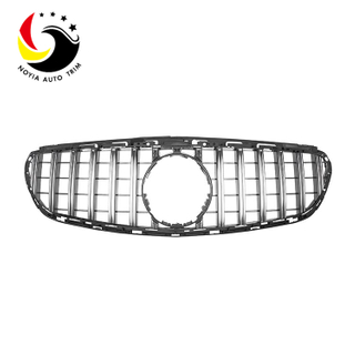 Benz E Class W212 13-15 GTR Style Silver Front Grille