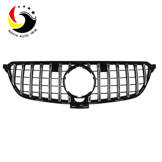 Benz GLE Class W292 15-IN GTR Style Chrome Silver Front Grille