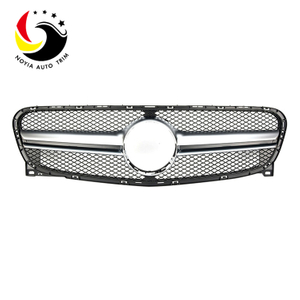 Benz GLA Class X156 AMG Style 15-IN Silver Front Grille