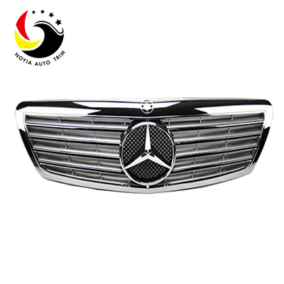 Benz S Class W221 Sport Style 06-07 Chrome Silver Front Grille