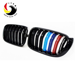 Bmw X3/X4 F25/F26 14-IN 2-Slat Glossy M Colour Front Grille