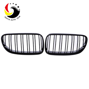 Bmw 3 Series E92/E93 06-09 2-Slat Gloss Black Front Grille