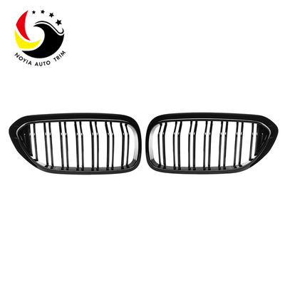 Bmw 5 Series G30/G31/G38 17-IN 2-Slat Gloss Black Front Grille