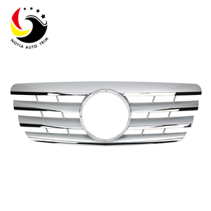 Benz E Class W210 AMG Style 00-02 Silver 2-Fin Front Grille