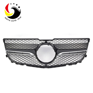 Benz GLK Class X204 AMG Style 13-15 1-Fin Black Front Grille