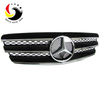 Benz E Class W211 AMG Style 03-06 Chrome Black 3-Fin Front Grille
