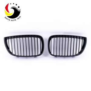 Bmw E87 05-06 Gloss Black Front Grille