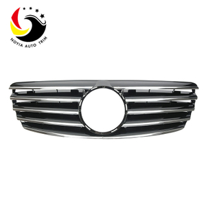Benz E Class W211 Sport Style 03-06 Chrome Black Front Grille