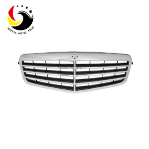 Benz E Class W212 10-13 Original Style 3-FIN Black Front Grille