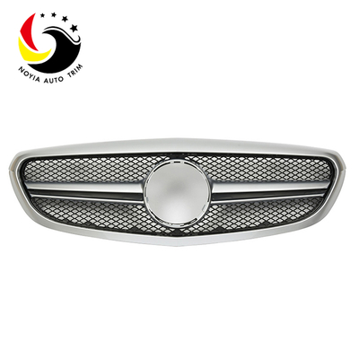 Benz C Class W205 C63 Style 15-IN Silver Front Grille