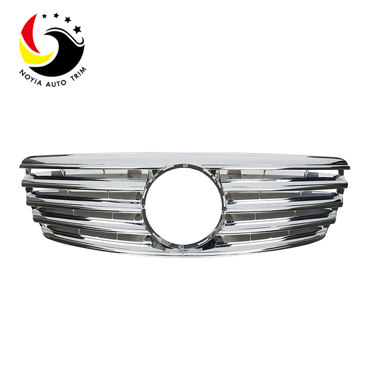 Benz E Class W211 Sport Style 03-06 Chrome Front Grille