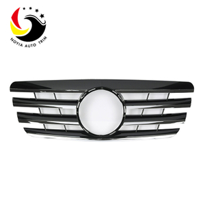 Benz E Class W210 AMG Style 00-02 Chrome Black 2-Fin Front Grille