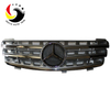 Benz ML Class W164 AMG Style 06-08 Chrome Silver 3-Fin Front Grille